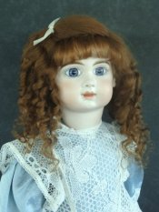 Aurelie Side Part w/bangs Mohair Wig