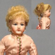 "Lillian Mohair Wig For 8"" French Fashion Dolls"