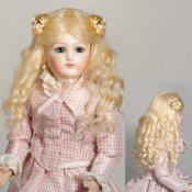 "Marguerite Mohair Wig for 8"" French Fashion Dolls"