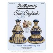 "12"" French Fashion Doll Patterns"