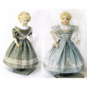 "8"" French Fashion Doll Patterns"