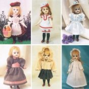 Mignonette & Sm. All Bisque Doll