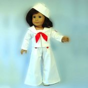 "Sailor Outfit - 18"" Size - Captain January"