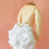 French Fashion Bustle-12 Inch