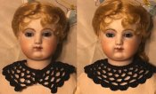 "Crocheted Victorian Collar for 14 -16"" French Fashion"