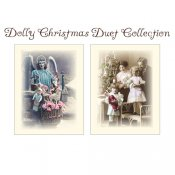 Dolly Christmas Duet Collection Note Cards