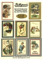 Jean Nordquist Greeting Card - Set of 8