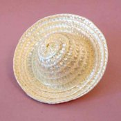 Synthetic Straw Hat