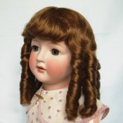 Human Hair Wig-European Long Curl