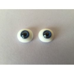 French Style Paperweight Glass Eyes for Barrois/Portrait Jumeau