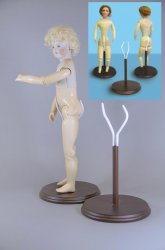 "14"" - 18"" French Fashion Doll Stand"