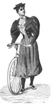Bicycling Costume 1894-Mini Magic Pattern or Kit