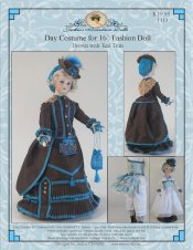 "Day Costume for 16"" French Fashion Doll"
