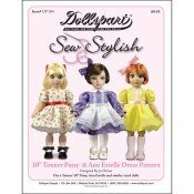 "10"" Tonner Patsy/Ann Estelle Dress Pattern"
