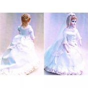 "Bridal Attire Pattern For 8"" Fashion Dolls"