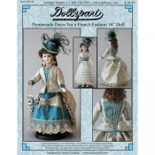 "Promenade Dress For 16"" French Fashion Doll"
