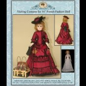 "Visiting Costume for 16"" French Fashion Doll"