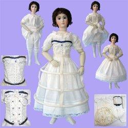 "12/"" Fashion French doll Corset from La Poupée Modéle  Alice Leverett Ultimate FF"
