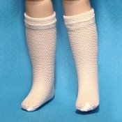 "8"" French Fashion Mesh Socks"