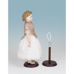 "12"" French Fashion Doll Stand"