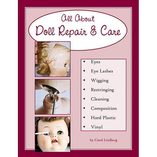 DIY Doll Repair Replace Doll Eyes eBook Digital Download Basic Doll Repair Restring Dolls Wig Making PDF Book Doll Repair Book
